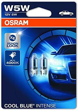 Lampadine Led H7 Osram.Osram W5w 2825hcbi 02b 5w 12v W2 1x9 5dbli2 Cool Blue Intense Auxiliary