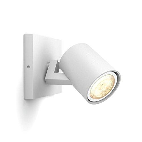 Faretti Led G10.Philips Hue Extension Spotlight Runner Single Spotlight Ext Surfaced Lighting Spot Gu10 1 Bulb S Led 5 5 W 5 5 W