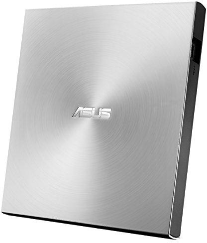 Asus SDRW-08U7M-U Interface USB 2.0, DVD±RW, CD read speed 24 x, Sidabrinis, CD - Optiniai įrenginiai