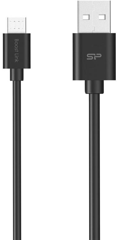 SILICONPOW SP1M0ASYLK10AB1K Silicon Power Cable microUSB - USB, Boost Link LK30, - USB kabeliai