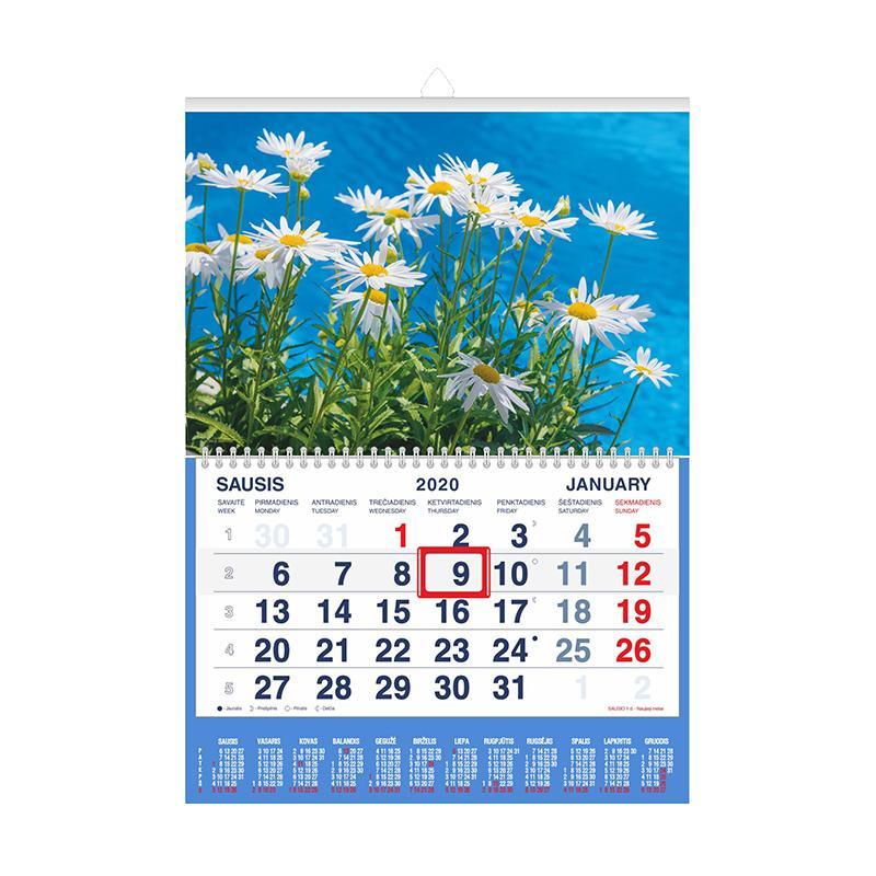 2020 Kalendorius.Pakabinamas Kalendorius Mobile Serviss Ramunės 2020 1 Dalis