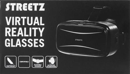 Virtualios realybės STREETZ VRBOX2