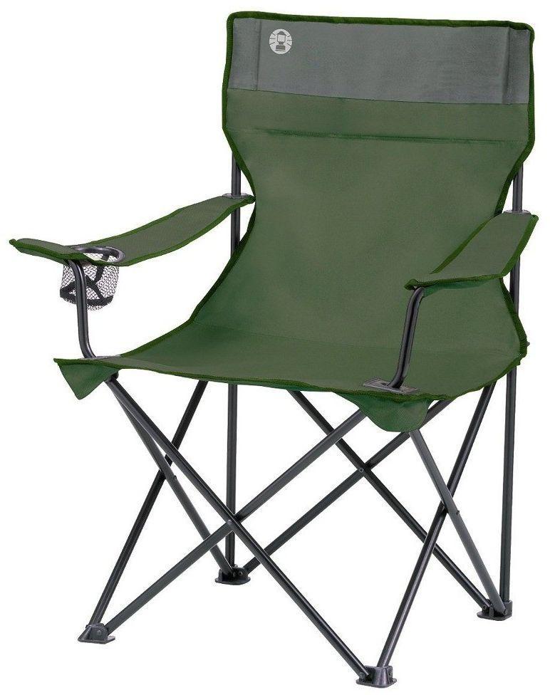 Campingstuhl Coleman.Coleman Campingstuhl Quad Chair Grün