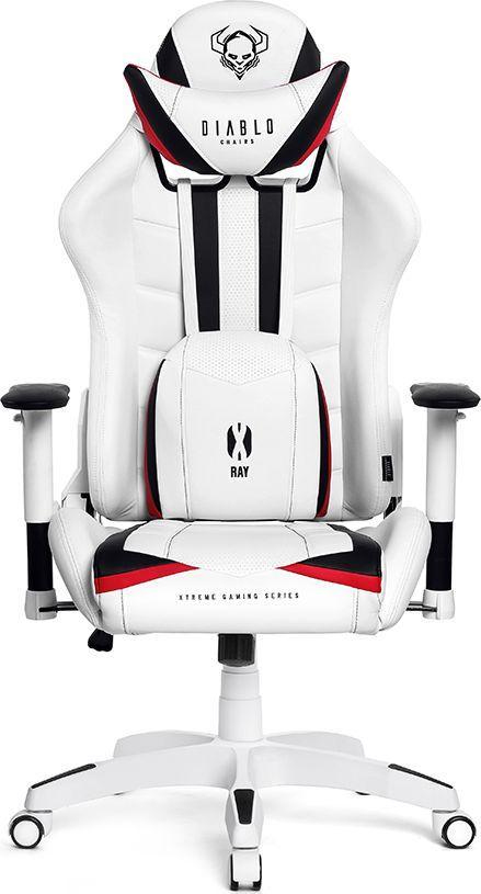 Poltrone Da Ufficio In Pelle.Diablo Chairs Diablo X Ray Sedia Gaming Poltrona Da Ufficio Braccioli 2d Design Ergonomico Perforazione Finta Pelle Funzione Di Inclinazione Portata
