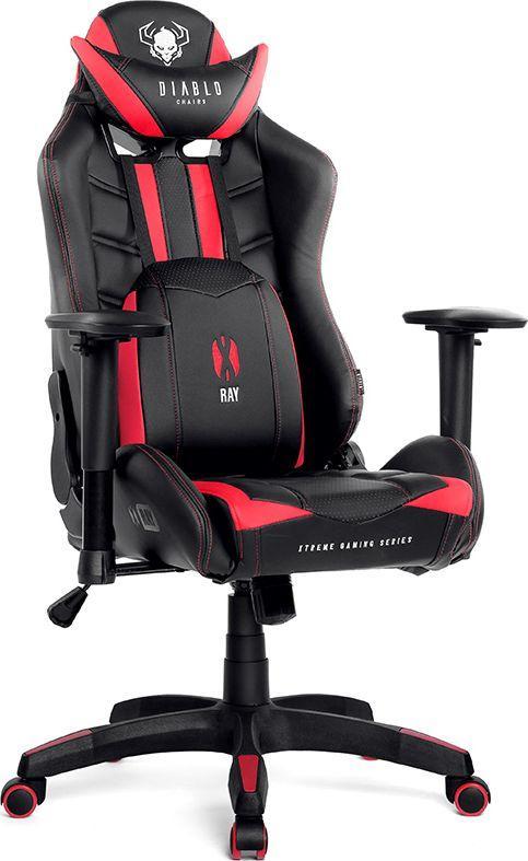Poltrona Da Gaming.Diablo Chairs Diablo X Ray Sedia Gaming Poltrona Da Ufficio Braccioli 2d Design Ergonomico Perforazione Finta Pelle Funzione Di Inclinazione Portata