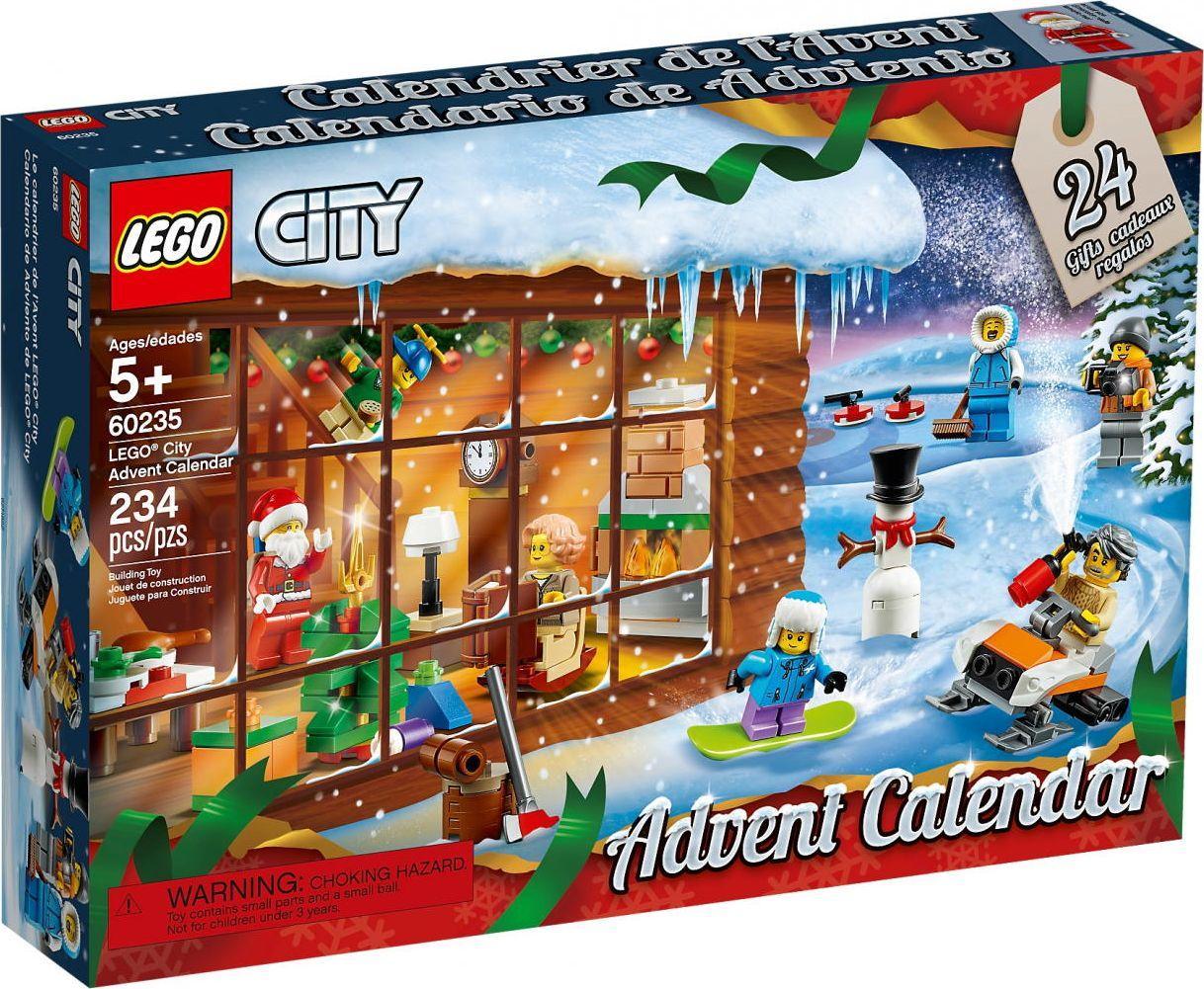 Lego Calendrier.Lego City Advento Kalendorius 60235