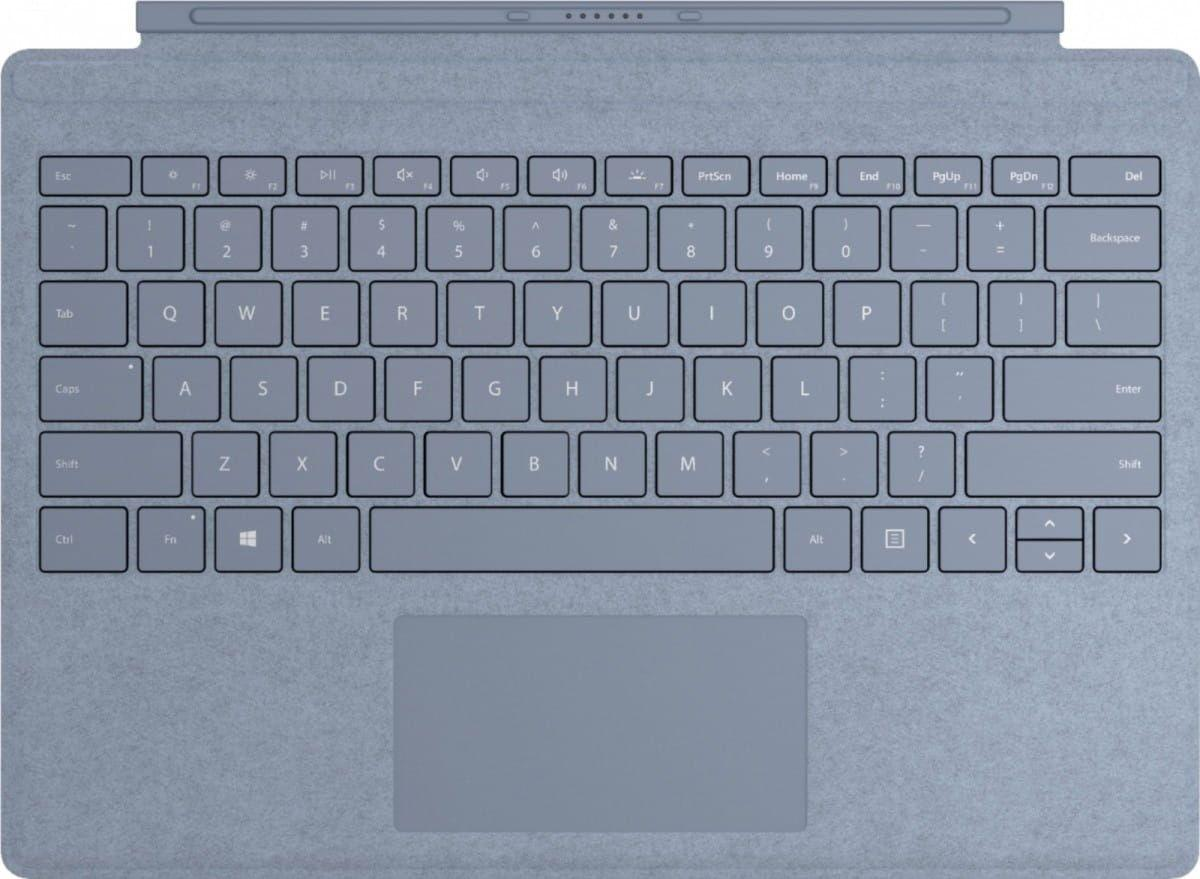 Microsoft Surface Go Signature Type Cover - English - Trackpad - 1 mm - Microsoft - Planšečių priedai, aksesuarai