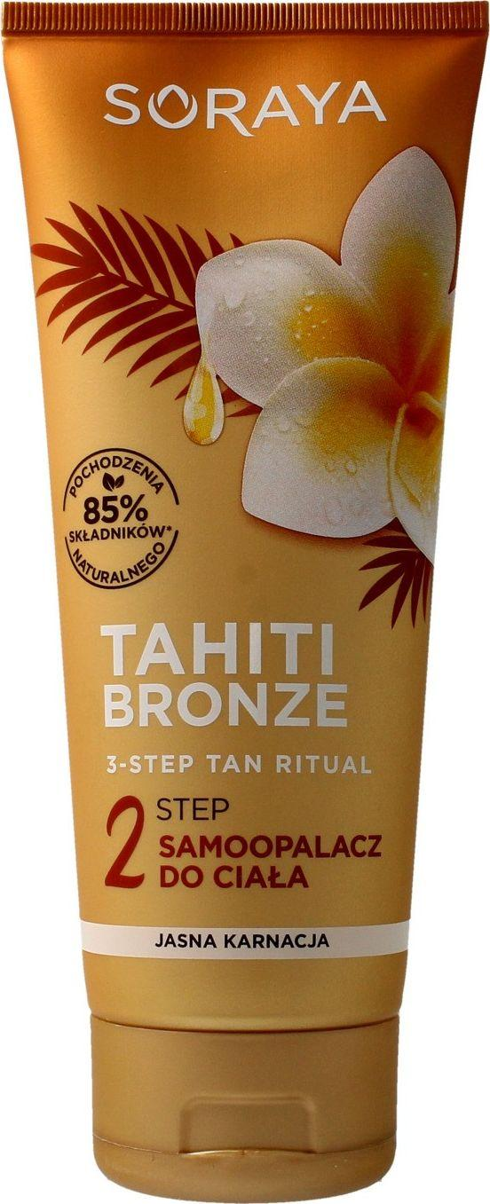 Soraya Tahiti Bronze 2 Step self tanning body light complexion 200ml - Saulės kosmetika