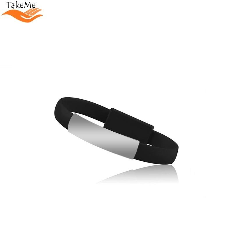 Pferd TakeMe 2in1 Elegant Bracelet & Fast Transmission 2.1A Data / Charging cable - USB kabeliai