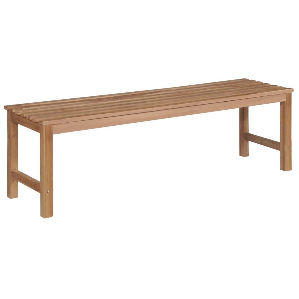 Plank 150 Cm.Sodo Suoliukas 150 Cm Tikmedzio Medienos Masyvas Varle Lt