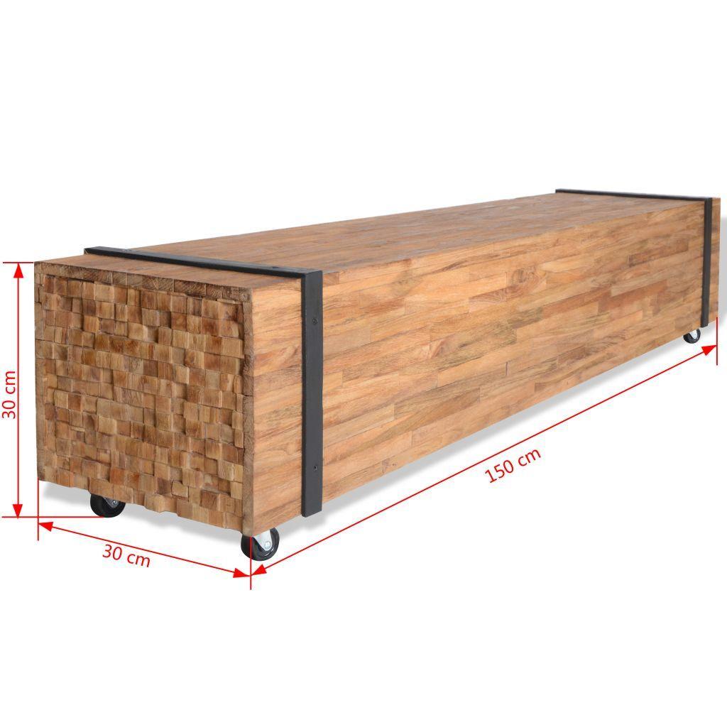 Plank 150 Cm.Tv Spintelė Tikmedis 150x30x30cm Varle Lt Mobili Versija