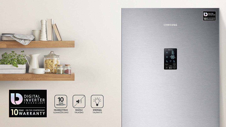 Šaldytuvas Samsung RB34K6232SS