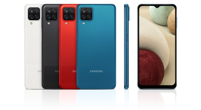 Samsung A127F Galaxy A12 128GB DS Juodas