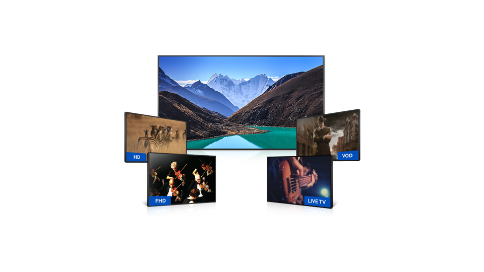 Televizorius SAMSUNG 40inch TV UE40JU6652UXXH