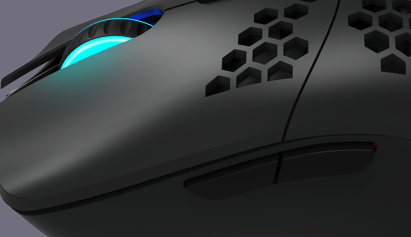 Ultra lengva žaidimų pelė Canyon Puncher GM-11, su programuojami mygtukai, su RGB pašvietimu, Macro, Pixart PAW3519 optinis jutiklis, Juoda