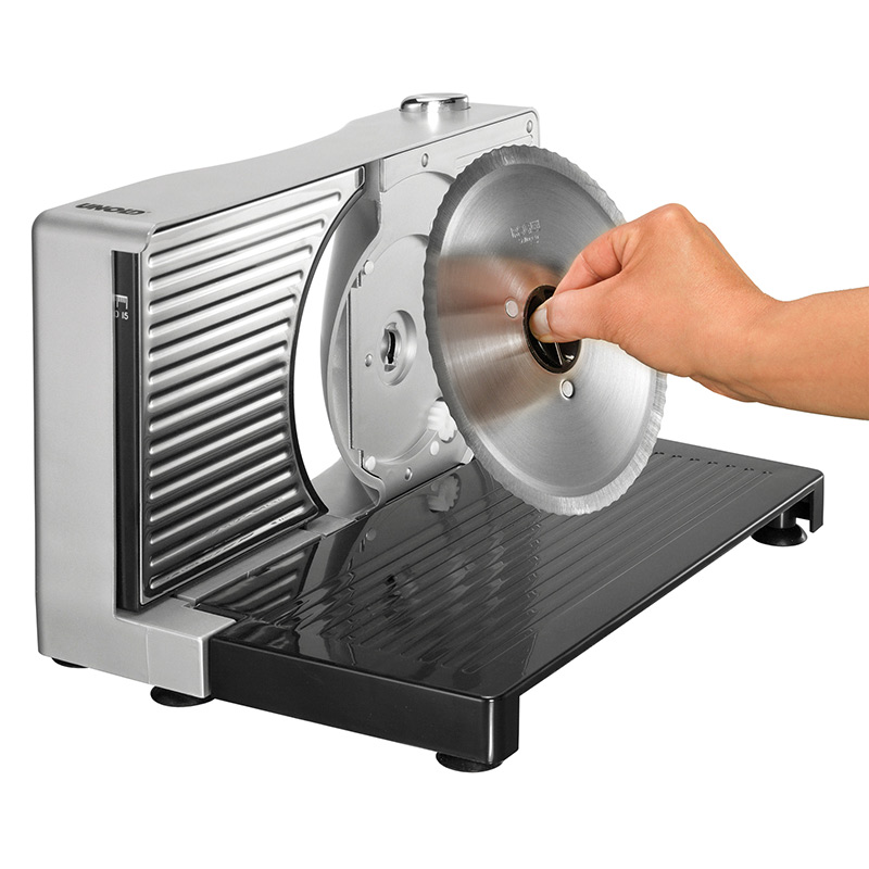 Unold Compact Slicer 78856 Sidabrinis/Anthracite, 100 W, 170 mm, 15 mm