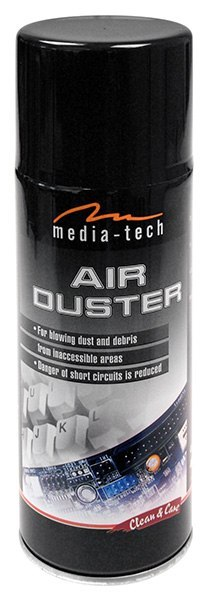 Valiklis suspaustas oras Media-Tech AIR DUSTER MT2607 400ml